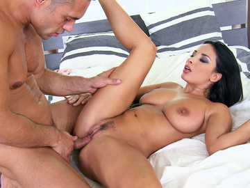 Marvelous Latina slut Anissa Kate fucked in a missionary position