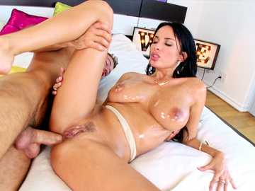 Big tits MILF Anissa Kate gets a hardcore fuck of her trimmed pussy and nasty ass