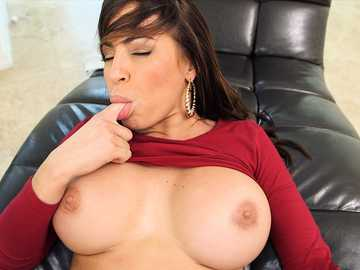 Hardcore pussy fucking of a trimmed pussy of a huge tits Latina Julianna Vega