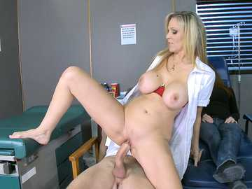 Hot Nurse Julia Ann Gets The Cock Pumpin'