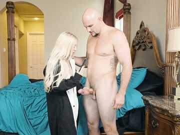 Jmac takes pleasure in watching Kenzie Reeves showing off in her funny outfit