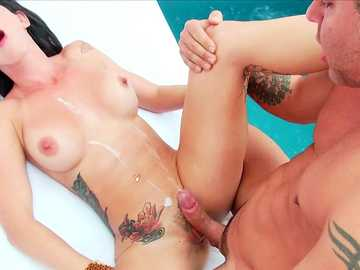 Elisa Sanches in ultimate anal fucking scene with porn director Jazz Duro