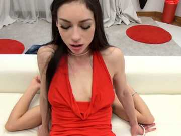 Anal threesome with young Russian slut Arwen Gold