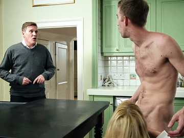 Cheating wife Amber Jayne is enjoying her revenge with a cock of her stepson