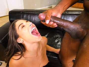 Crazy whore Abella Danger gets analyzed by the monster cock of Mandingo