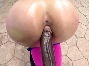 Katrina Jade: She likes to work out with black dick