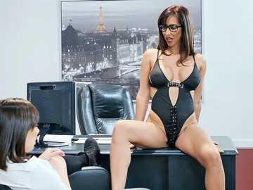 Isis Love and Jenna Sativa: Detention With The Domme