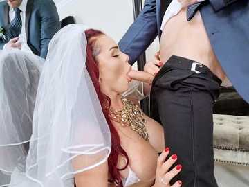 Skyla Novea: The Cum Spattered Bride