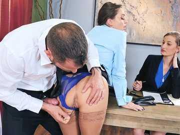 Abigail Mac is surprised with new dirty testing methods at job interview