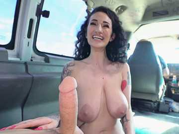 Arabelle Raphael: Euro Tattoo Artist Gets an Anal Ride
