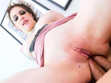 Double anal penetration makes slutty lady Anna De Ville absolutely happy