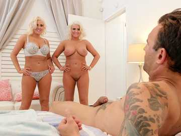 Karissa Shannon and Kristina Shannon: Sneaky Sister Swap