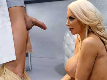 Incredible diva Nicolette Shea wakes up after many years of cryogenic suspension