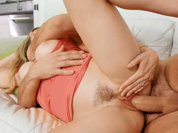 Insatiable cougar Cory Chase needs a girthy dick and a sex toy to get off