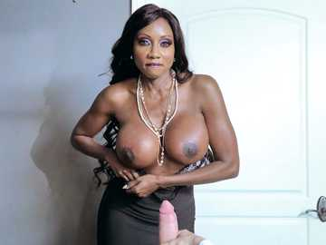 Voluptuous boss Diamond Jackson screws her staff in work fantasies porn