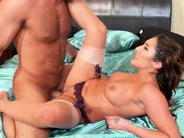 Devoted secretary Christiana Cinn takes boss's cumshot all over her body