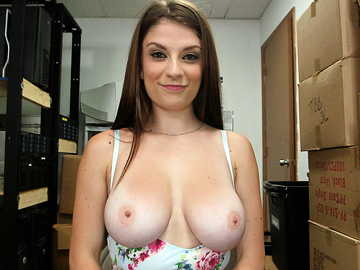 Dillion Carter's first porn audition