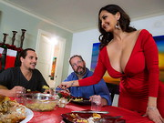 Ava Addams is a stacked mommy with a very special holiday tradition: every year her daughter ...