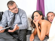 A horny housewife, Tiffany Brookes, is looking for some afternoon delight, only problem is ...