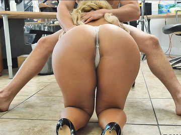 Nina Kayy in The Big Anal Surprise!
